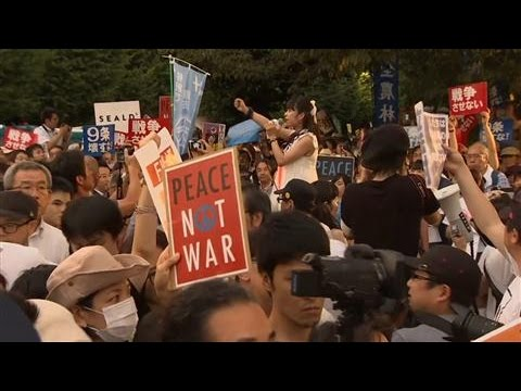 Shinzo Abe's Military Bill Divides Japan