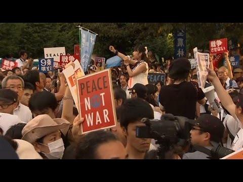 Shinzo Abe's Military Bill Divides Japan
