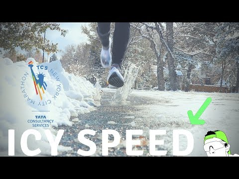 ICY NYC Marathon Workout: retaining SPEED and TURNOVER