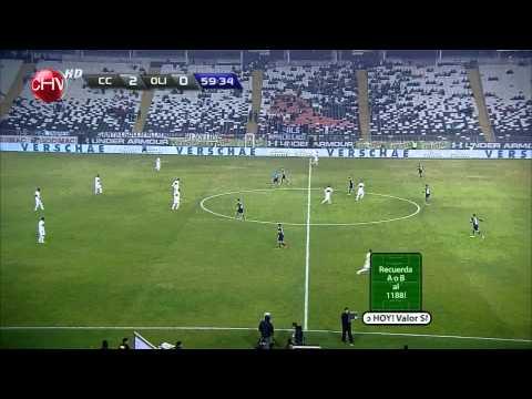 Colo - Colo 4 vs Olimpia 0 - Copa Conmemoración 12/07/2014