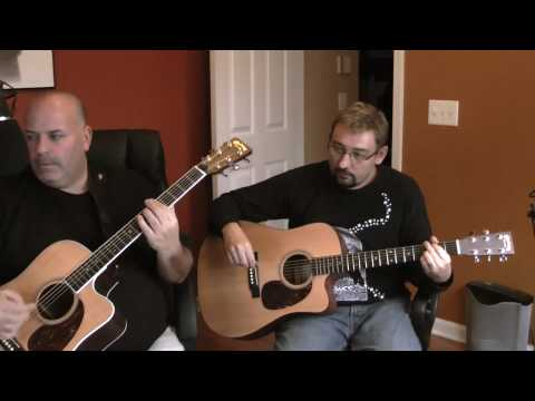 Men at Work / Colin James Hay - Overkill (Acoustic Cover with two guitars)