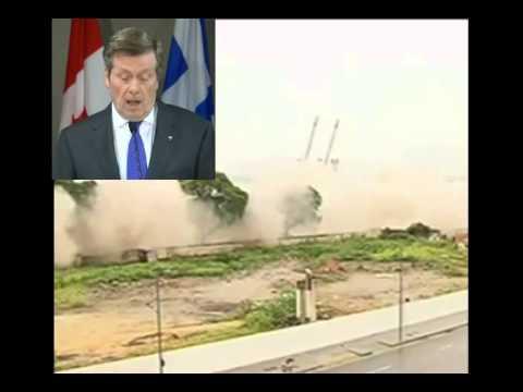 Mayor Tory on Rio de Janeiro's elevated expressways