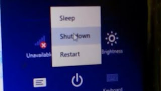 How To Fix Windows 8.1 not shutting down issue/ Computer starts after shutdown