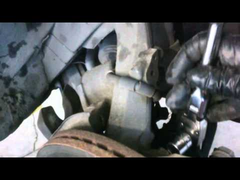 Front brake pad replacement 2006 - 2012 Ford Fusion Lincoln Mazda Pads Rotor Install Remove Replace