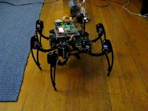 Hexapod short demo