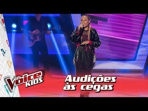 Talita Cipriano canta ?Fim de Tarde? na Audição ? ?The Voice Kids Brasil?   3ª Temporada