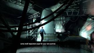 Half Life 2: Episode 2 Gman and Borealis cutscenes