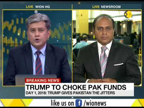 Breaking News: US President Donald Trump slams Pakistan and its leaders
