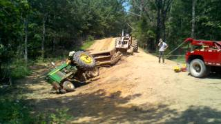 Tractor roll over