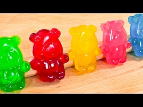 How To Make Gummy Bears - Regular AND SOUR -...
