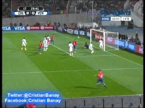 Chile 3 Venezuela 0 (ADN Radio Chile) Eliminatorias Brasil 2014 (6/9/2013)