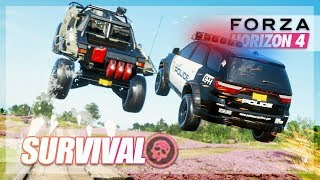 Forza Horizon 4 - Better Than Infection? Survival Gamemode w/The Crew