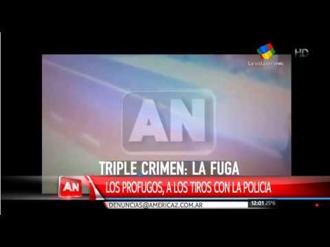 Triple Crimen: Los prófugos balearon a dos policías en un control