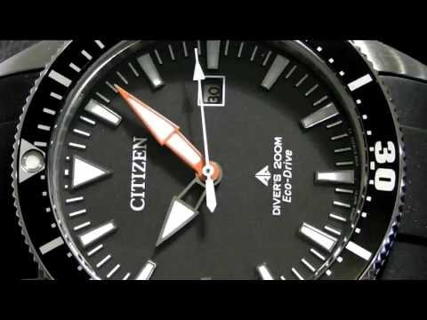 2S Time : Citizen Eco-Drive Promaster Professional Divers BN0100-00E
