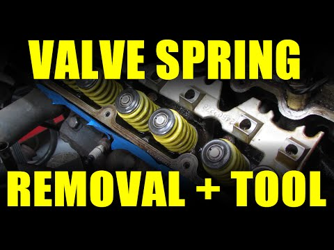 How To: Remove Valve Springs + DIY Valve Spring Compressor!
