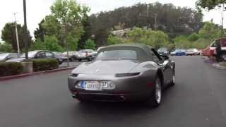 bmw z8 E52 cobrio start up+ rev+accelaration! (REPLICA?!?)