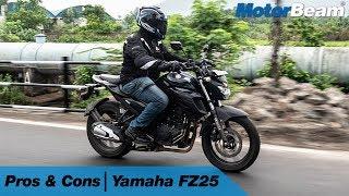 Yamaha FZ25 - Pros & Cons | MotorBeam