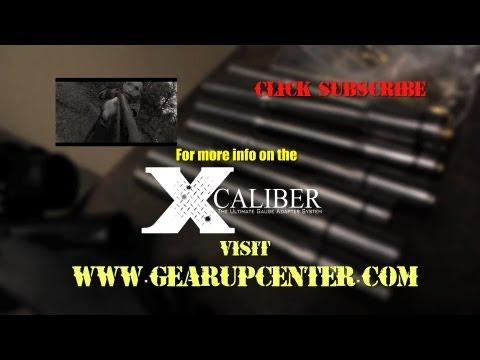X Caliber Shotgun Gauge Adapters revealed by Tim Ralston of Nat Geo 's Doomsday Preppers VIDEO 2