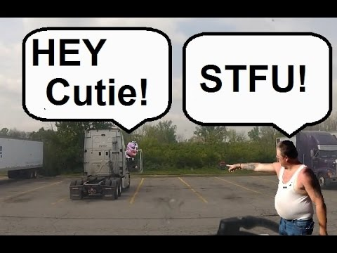 ( ͡° �� ͡°) Hilarious Trucker Trolled on the CB Radio. (Best viewed on a computer or laptop)