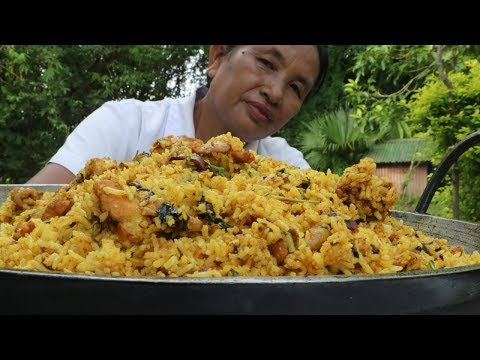 Chicken Biryani (Super tasty) | Delicious Chicken Biryani prepared by Mummy | Village Mummy's Foods