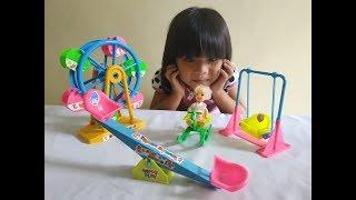 Unboxing Mainan Taman Bermain 😍 Mainan Anak Perempuan 😍 FUN OUTDOOR PLAYGROUND Toys
