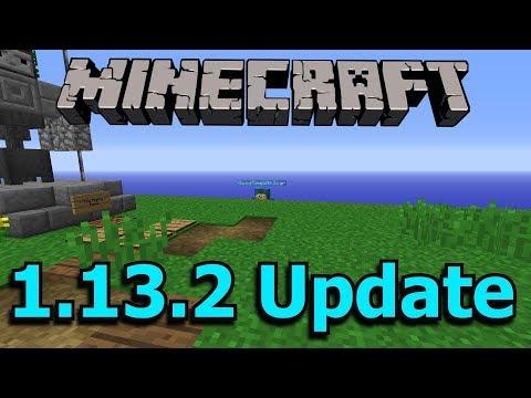 Minecraft 1.13.2 Update and 1.14 News!