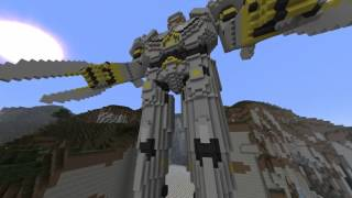 Minecraft Pacific Rim Striker Eureka