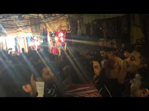 QBH CHEHLUM 2014  IRAQ KARBALA 17 CHALLIAN SHAAM DE RAWAN NU PART1