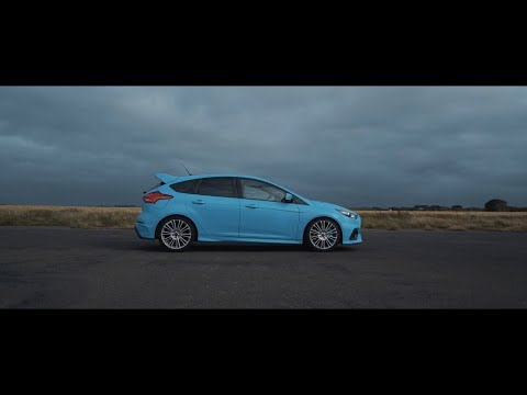 Ford Focus RS On An Empty Airfield