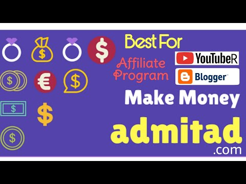 Best For Affiliate Marketing - Admitad.Com In Hindi By Techtip