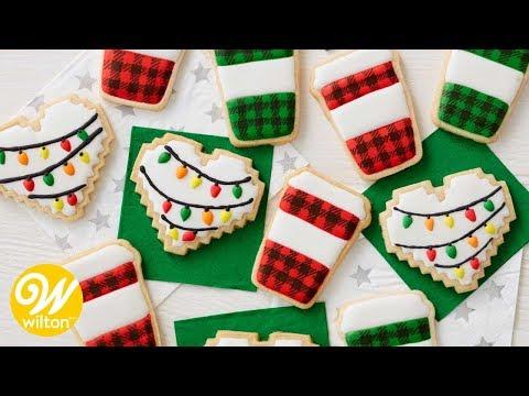 How to Make Christmas and Coffee Mug Cookies | Wilton