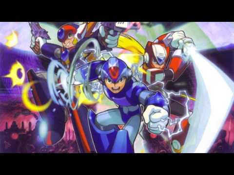 Misc Computer Games - Megaman X8 - Inferno Descending - Going Up