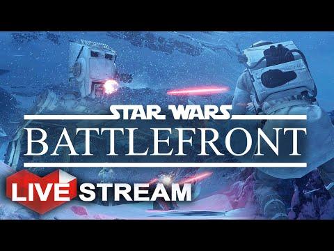 Star Wars Battlefront: UPDATE | Night Map & Hero DLC | Twilight on Hoth Live Stream (Part 37)