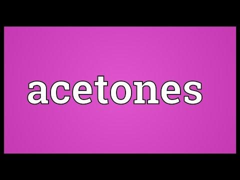 Header of Acetones