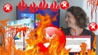 Mum Tries To DESTROY!!!! Windows 8.1 (2013)