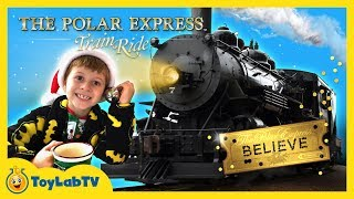 Santa Claus Surprise on the Polar Express & Family Fun Christmas Wish Train Ride