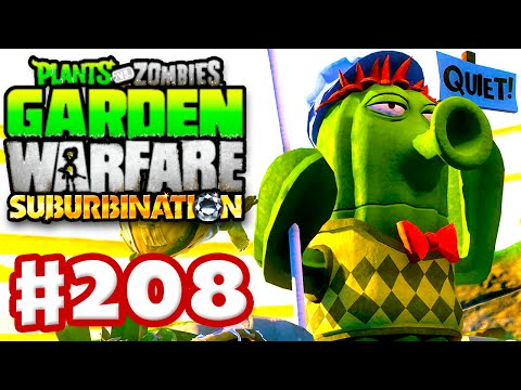 Plants vs. Zombies: Garden Warfare Gameplay Walkthrough Part 208 GhostRobo MasterOv
