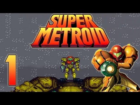 Let's Play Super Metroid - Part 1 - Samus auf Planet Zebes