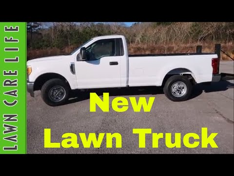 New Lawn Care Truck Purchase - Ford F250