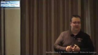 XENergy - XenDesktop 4 On Demand Apps - Roberto Luongo