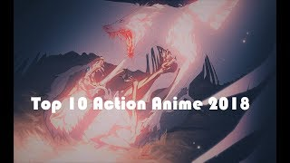 Top 10 Action Anime Winter 2018