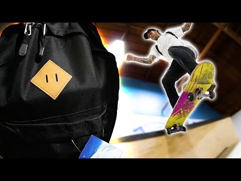 SUPER HEAVY BACKPACKS GAME OF SKATE! | STUPID SKATE EP 115