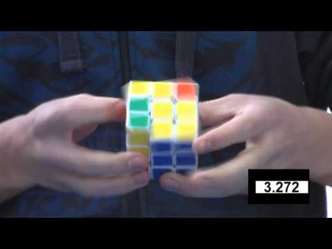 Feliks Zemdegs Rubiks cube (former) world record 6.18 - slow motion