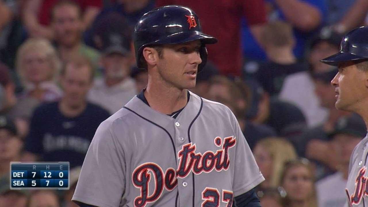 DET@SEA: Romine singles in the Tigers' seventh run