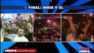 Vijay Mallya live on TV downing Kingfisher post 2011 World Cup Victory