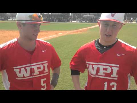 WPI Baseball Post-Game Interview - Nick Comei and Mike Vaitkunas