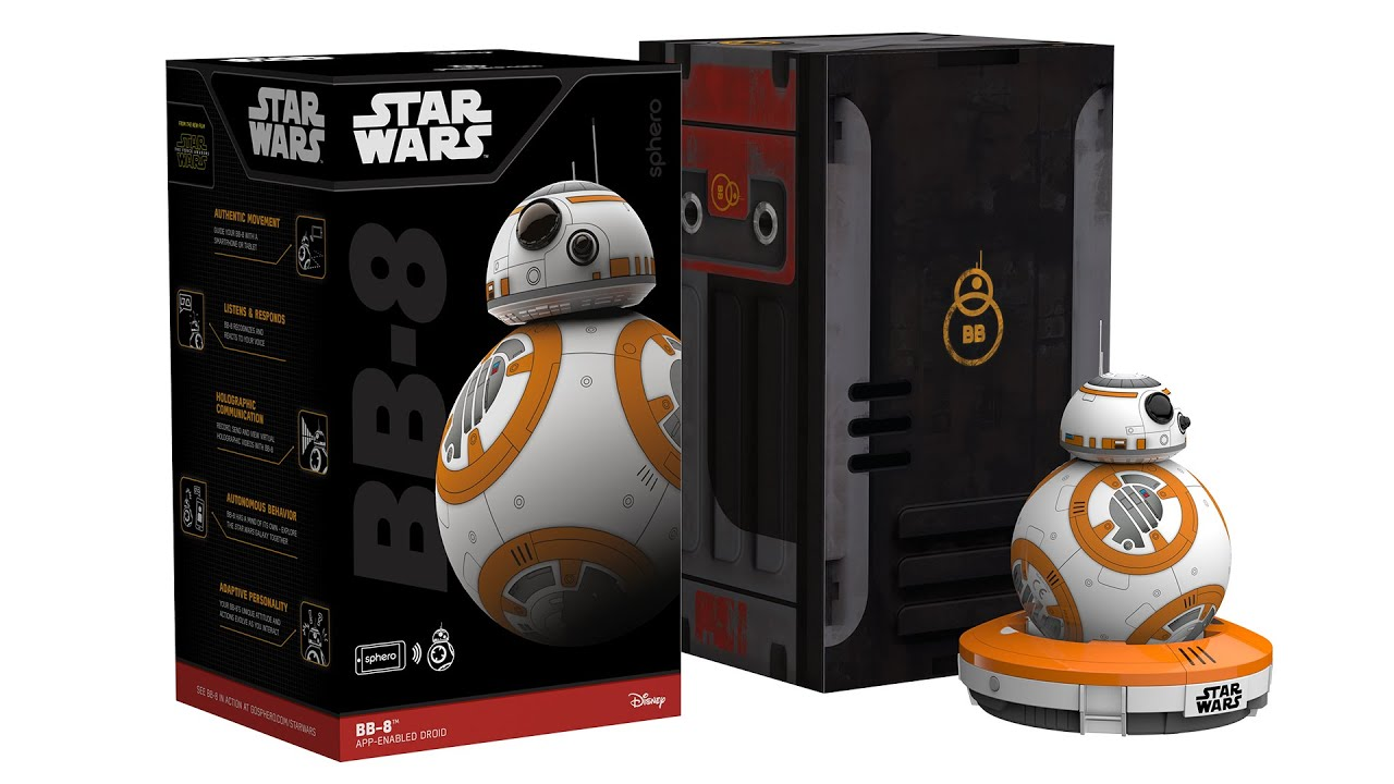 Unboxing the New BB-8 Droid by Sphero