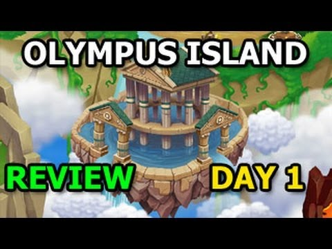 OLYMPUS ISLAND Dragon City Event Gameplay Review DAY 1