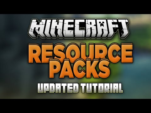 How to Install Resource Packs in Minecraft 1.13! (Texture Packs) (Updated)