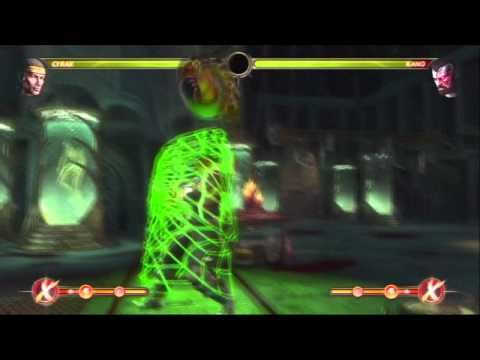 MK9 CYRAX COMBO VID, MAN vs MACHINE!